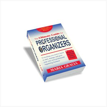 Professional organizing business